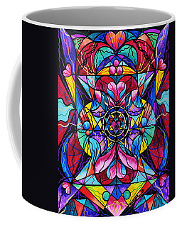 Blue Ray Healing Coffee Mug
