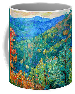 Blue Ridge Autumn Coffee Mug by Kendall Kessler