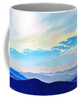 Blue Ridge Blue Above Coffee Mug