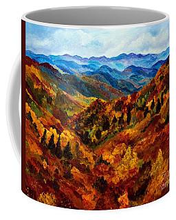 Blue Ridge Mountains In Fall II Coffee Mug
