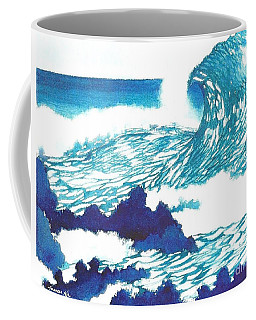 Blue Roar Coffee Mug