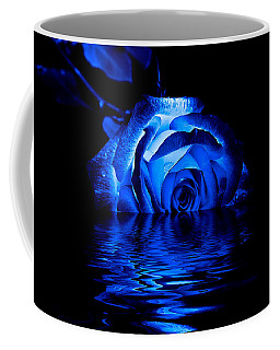 Blue Rose Coffee Mug