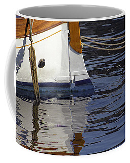 Blue Rudder Coffee Mug
