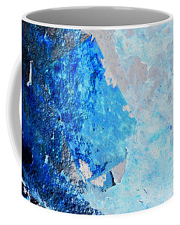 Coffee Mug featuring the photograph Blue Rust by Randi Grace Nilsberg