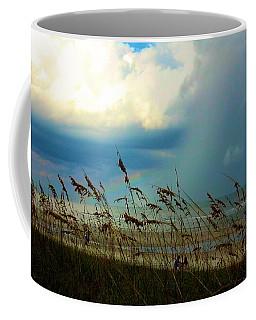 Blue Sky Above Coffee Mug