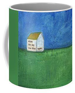 Blue Sky Again Coffee Mug