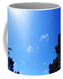 Blue Sky And Sunshine Coffee Mug