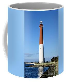 Blue Sky Blue Sea  And Barnegat Light Coffee Mug