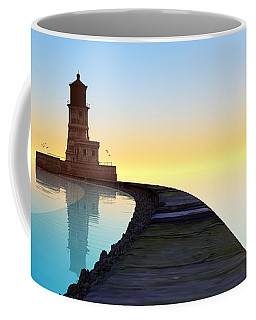 Blue Smooth Coffee Mug