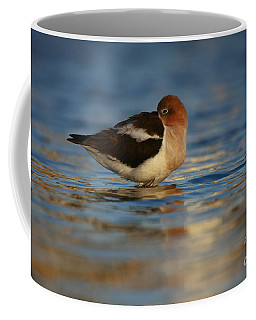 Coffee Mug featuring the photograph Blue Solitude by John F Tsumas