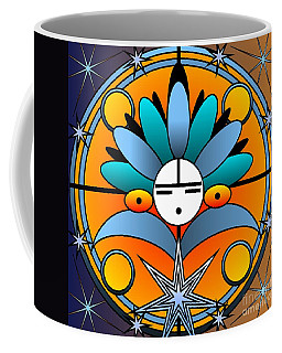 Blue Star Kachina 2012 Coffee Mug