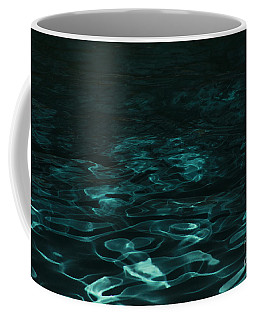 Blue Swirl One Coffee Mug