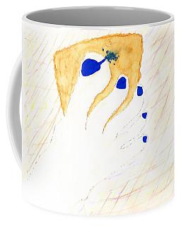 Blue The Big Toe Coffee Mug