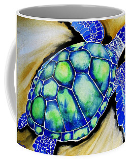 Blue Turtle Coffee Mug