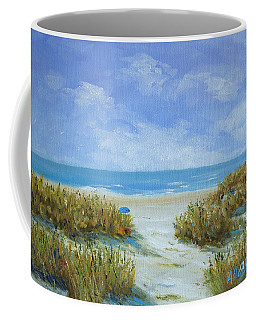 Blue Umbrella Coffee Mug