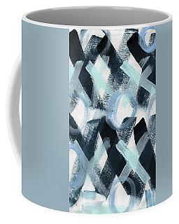 Blue Valentine- Abstract Painting Coffee Mug