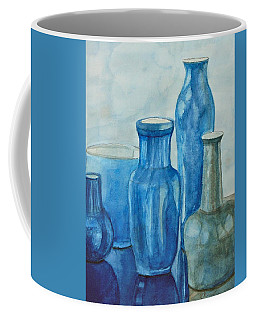 Blue Vases I Coffee Mug