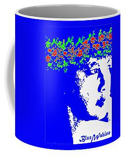 Blue Wahine Coffee Mug by Lehua Pekelo-Stearns
