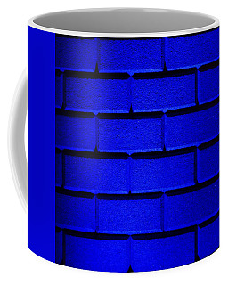 Blue Wall Coffee Mug by Semmick Photo
