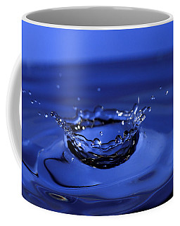 Blue Water Splash Coffee Mug