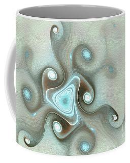 Coffee Mug featuring the digital art Blue Wave by Svetlana Nikolova