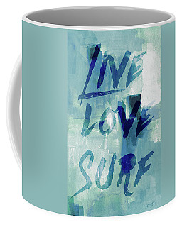 Blue Waves II Coffee Mug
