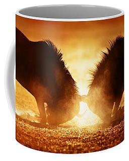 Blue Wildebeest Dual In Dust Coffee Mug