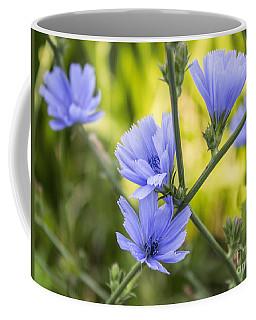 Blue Wildflwer Coffee Mug