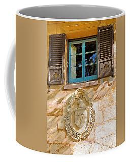 Blue Window And Medallion Db Coffee Mug