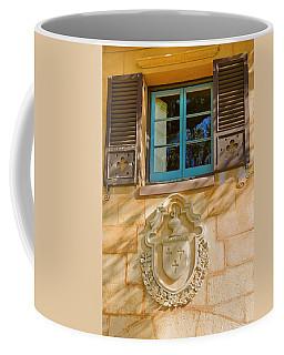Blue Window And Medallion Coffee Mug