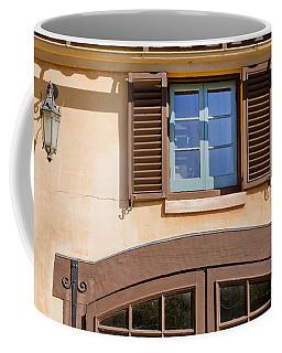 Blue Window Too Coffee Mug