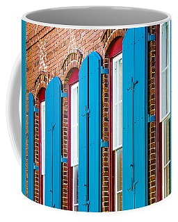 Blue Windows Coffee Mug