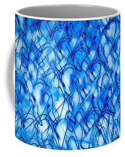 Blue Wispy Coffee Mug