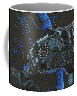 Blue Wolves Coffee Mug