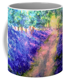 Bluebell Woods Coffee Mug by Hazel Holland