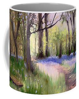Bluebells At Dusk Coffee Mug