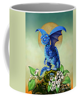 Blueberry Dragon Coffee Mug