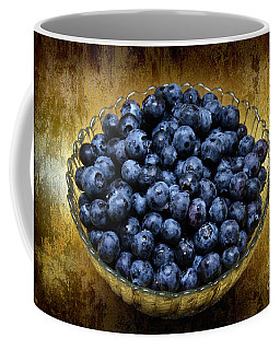 Blueberry Elegance Coffee Mug
