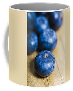 Blueberry Macro Coffee Mug