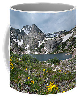 Coffee Mug featuring the photograph Bluebird Lake - Colorado by Cascade Colors