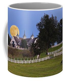 Bluegrass Moonrise Coffee Mug by Alexey Stiop