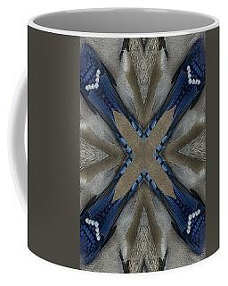 Bluejay Feathers Coffee Mug