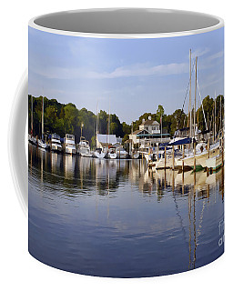 Bluer Than Blue    Painted Coffee Mug