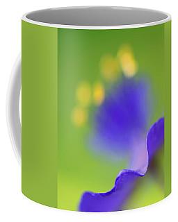 Blurred Spiderwort Coffee Mug