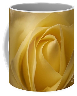Blushing Cream Rose  Coffee Mug
