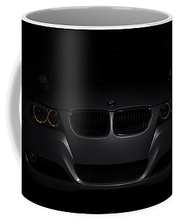 Bmw Car In Black Background Coffee Mug