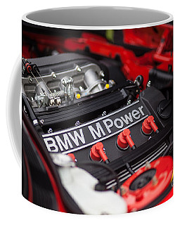 Bmw M Power Coffee Mug by Mike Reid