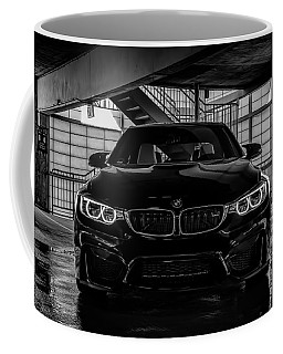 Coffee Mug featuring the digital art Bmw M4 by Douglas Pittman