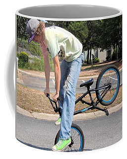 Bmx Rider Coffee Mug