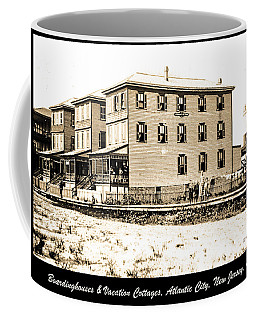 Boardinghouses And Cottages Atlantic City New Jersey C 1900 Coffee Mug